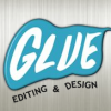 Glue Editing & Design logo